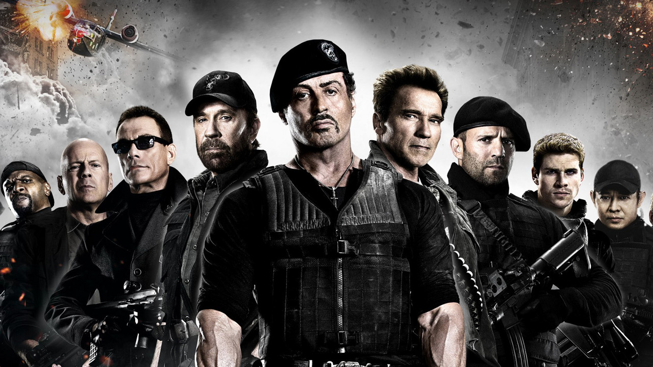 HD Quality Wallpaper | Collection: Movie, 1280x720 The Expendables