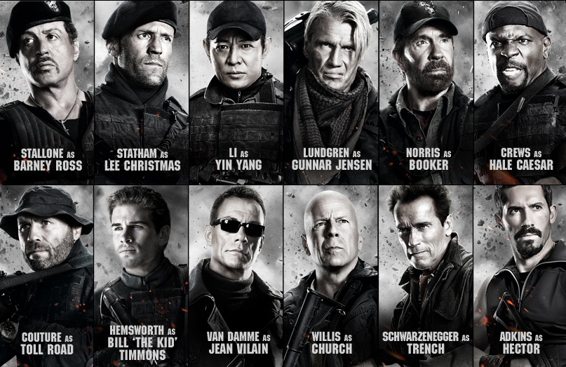 Nice wallpapers The Expendables 807x523px