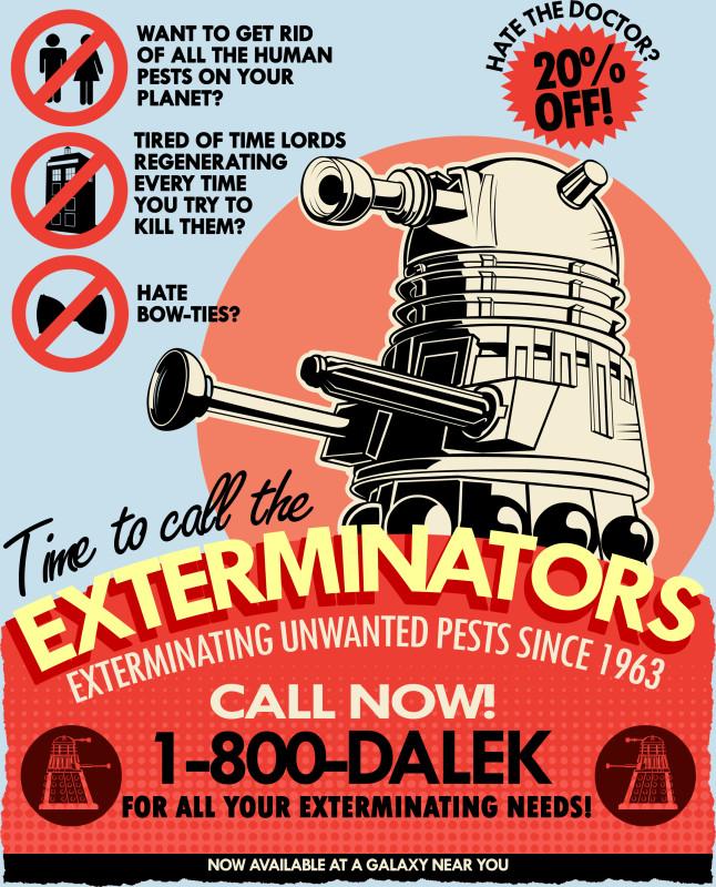The Exterminators Pics, Cartoon Collection