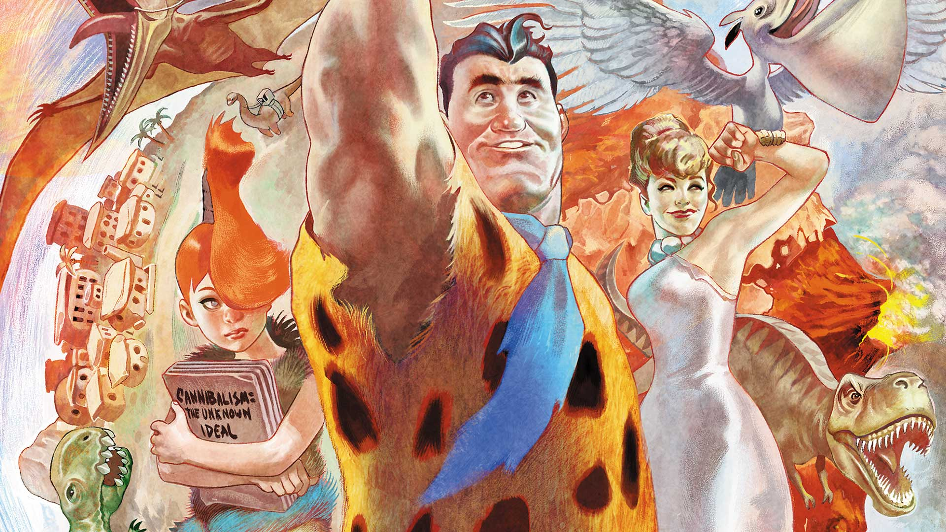 The Flintstones Backgrounds, Compatible - PC, Mobile, Gadgets| 1920x1080 px