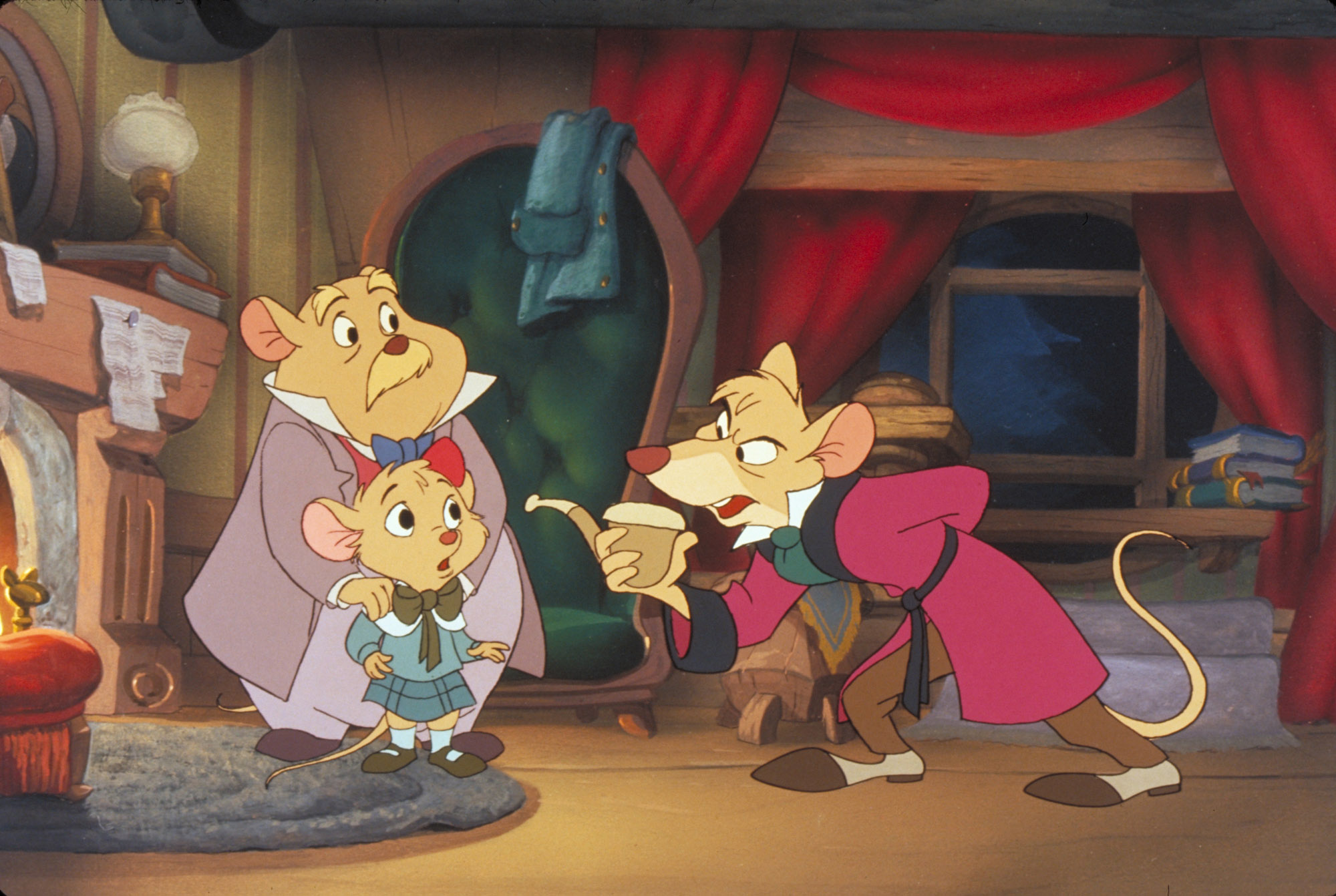 High Resolution Wallpaper | The Great Mouse Detective 2000x1342 px