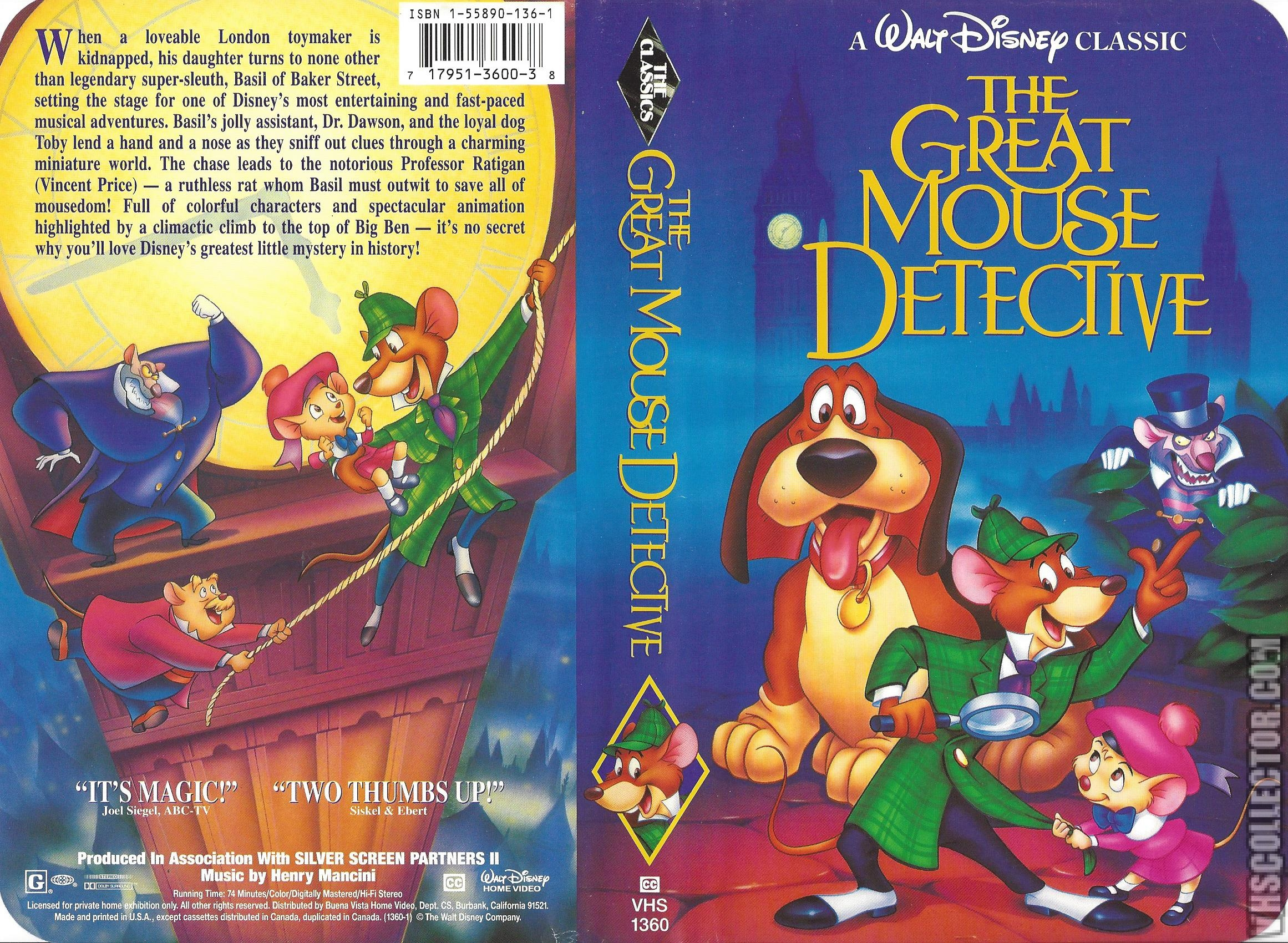 2322x1700 > The Great Mouse Detective Wallpapers