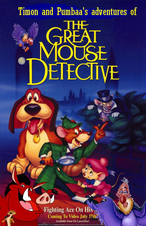 The Great Mouse Detective Backgrounds, Compatible - PC, Mobile, Gadgets| 580x901 px