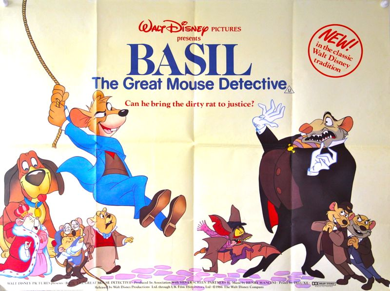 Amazing The Great Mouse Detective Pictures & Backgrounds