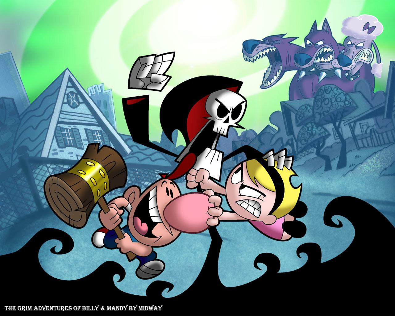 HQ The Grim Adventures Of Billy & Mandy Wallpapers | File 183.98Kb