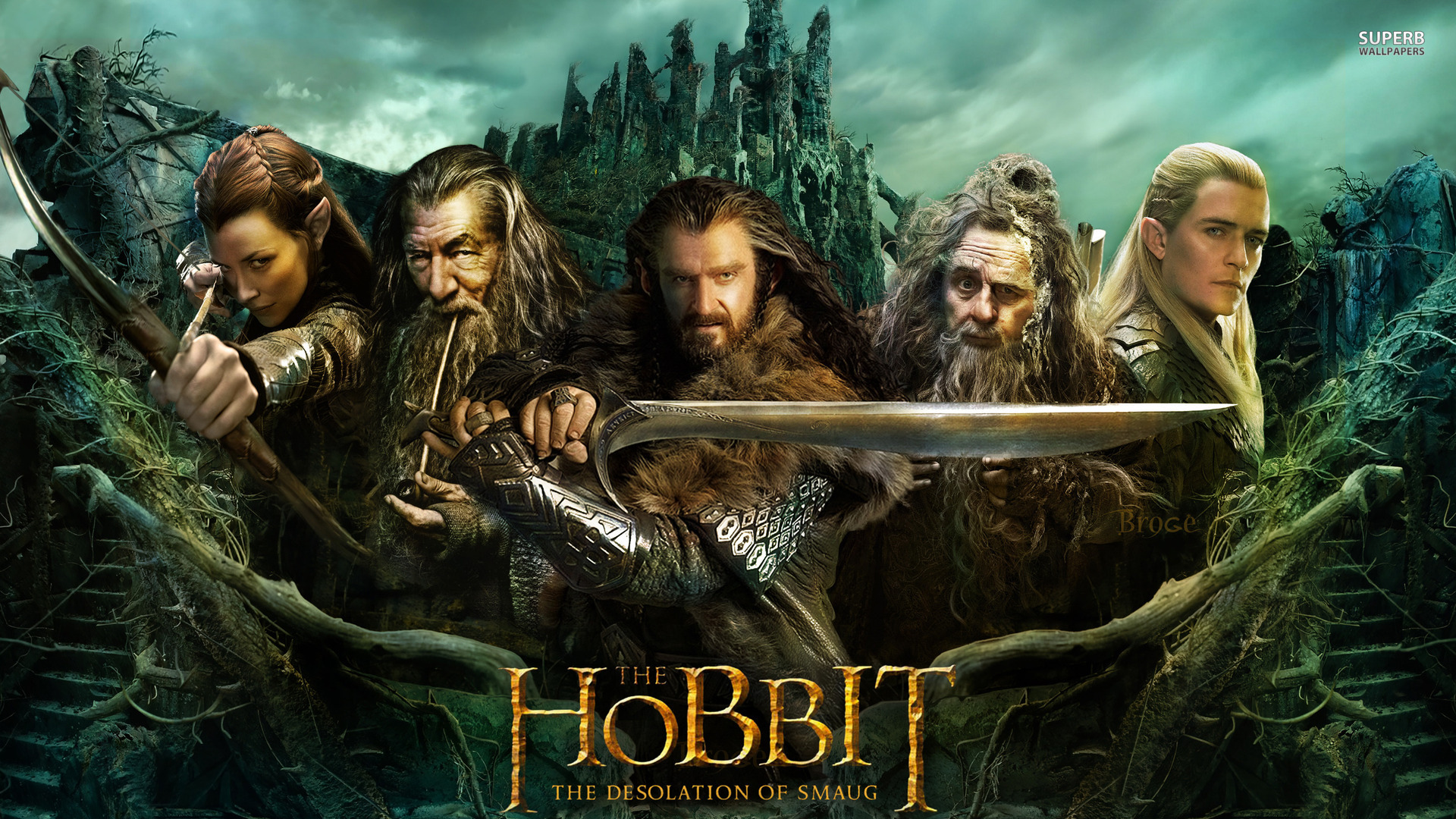 The Hobbit The Desolation Of Smaug Wallpapers Movie Hq The Hobbit The Desolation Of Smaug Pictures 4k Wallpapers 2019