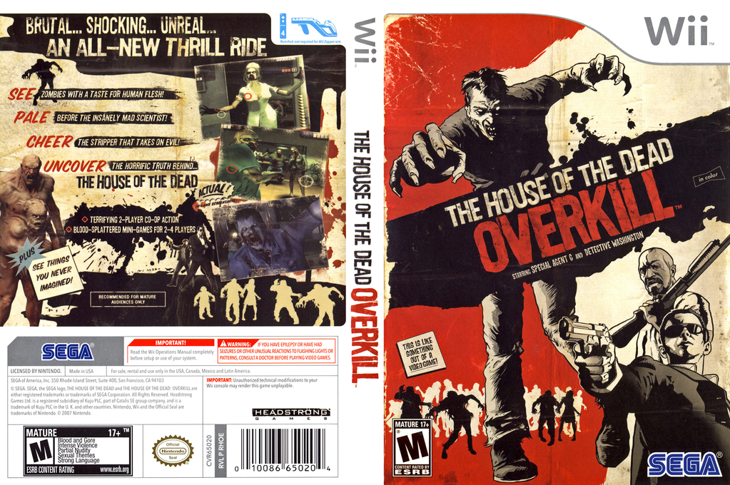 The House Of The Dead Overkill Wallpapers Video Game Hq The