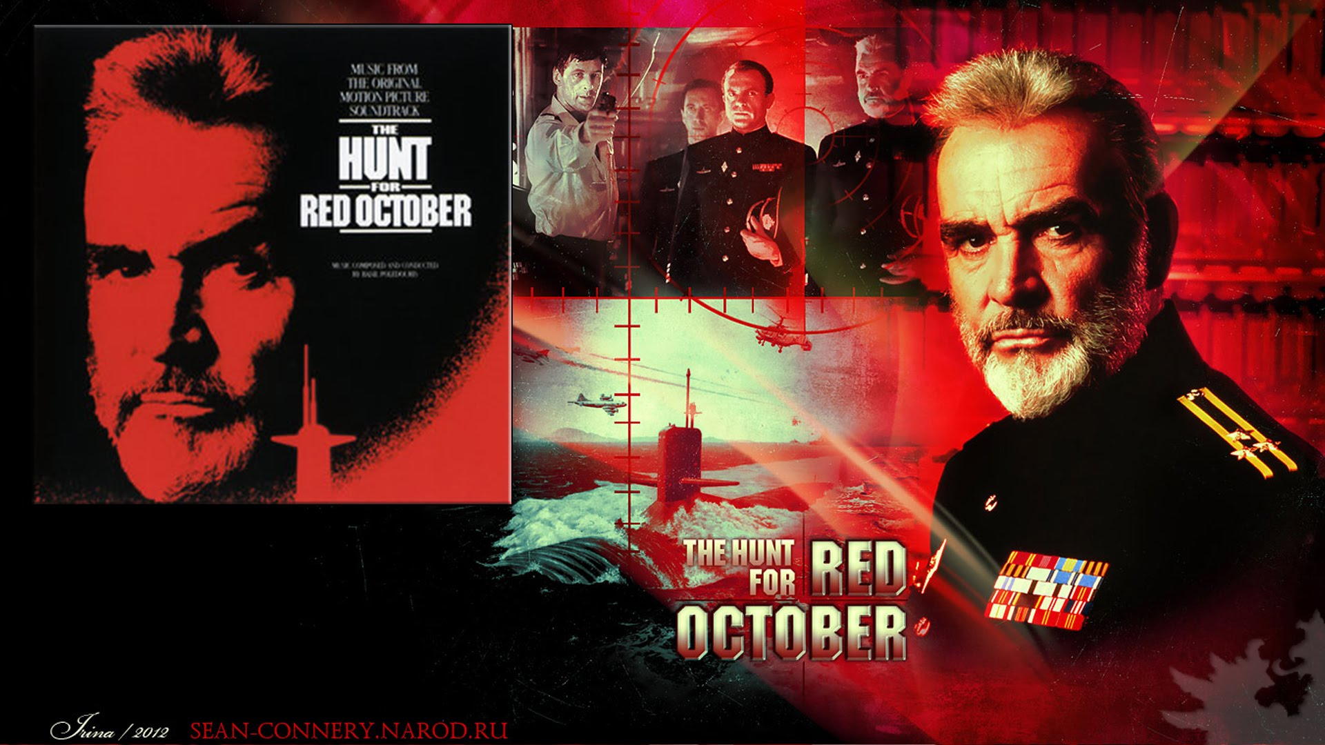 The Hunt for Red October 11 x 17 Movie Poster