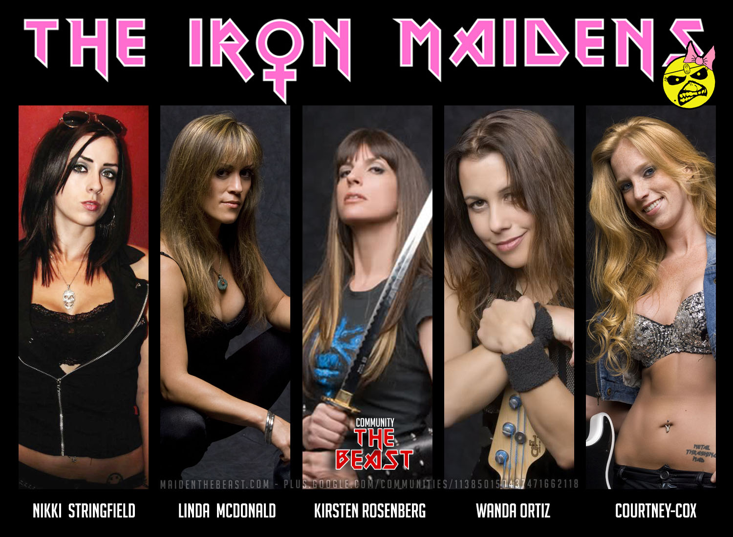 Nice wallpapers The Iron Maidens 1500x1100px