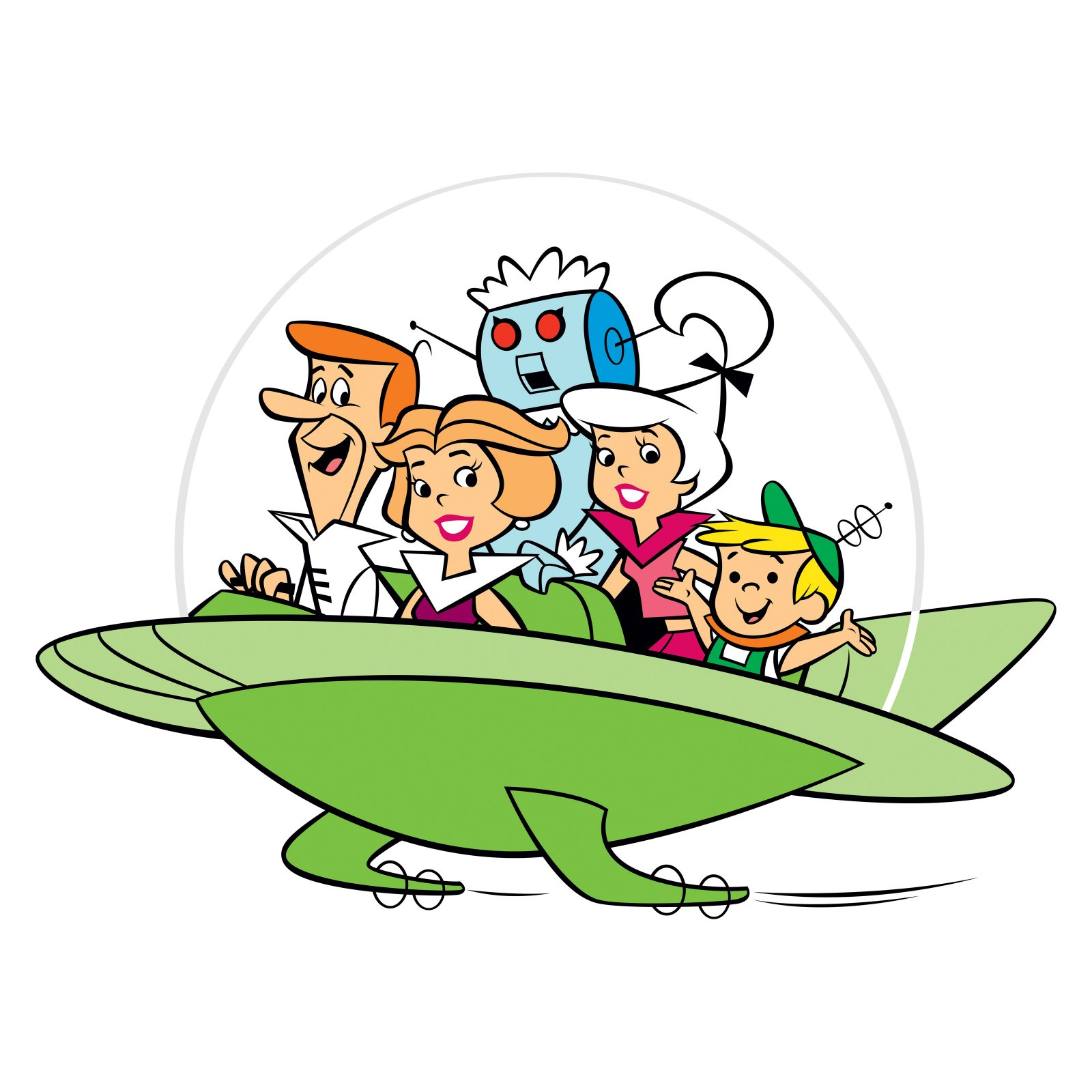 HD Quality Wallpaper | Collection: Cartoon, 1600x1600 The Jetsons