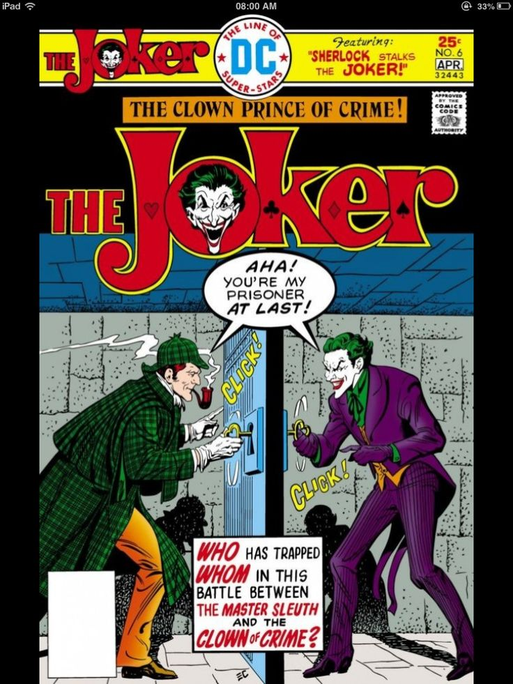 The Joker: The Clown Prince Of Crime wallpapers, Comics, HQ
