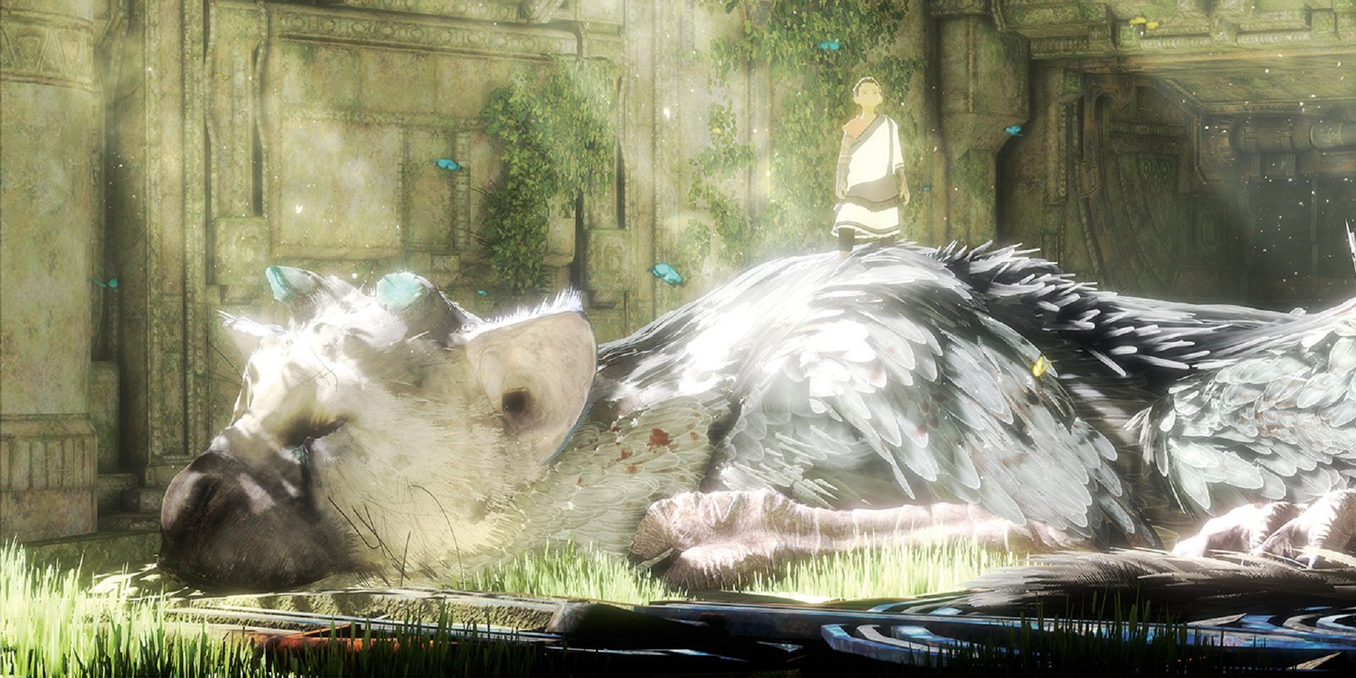 The Last Guardian Wallpapers Video Game Hq The Last Guardian