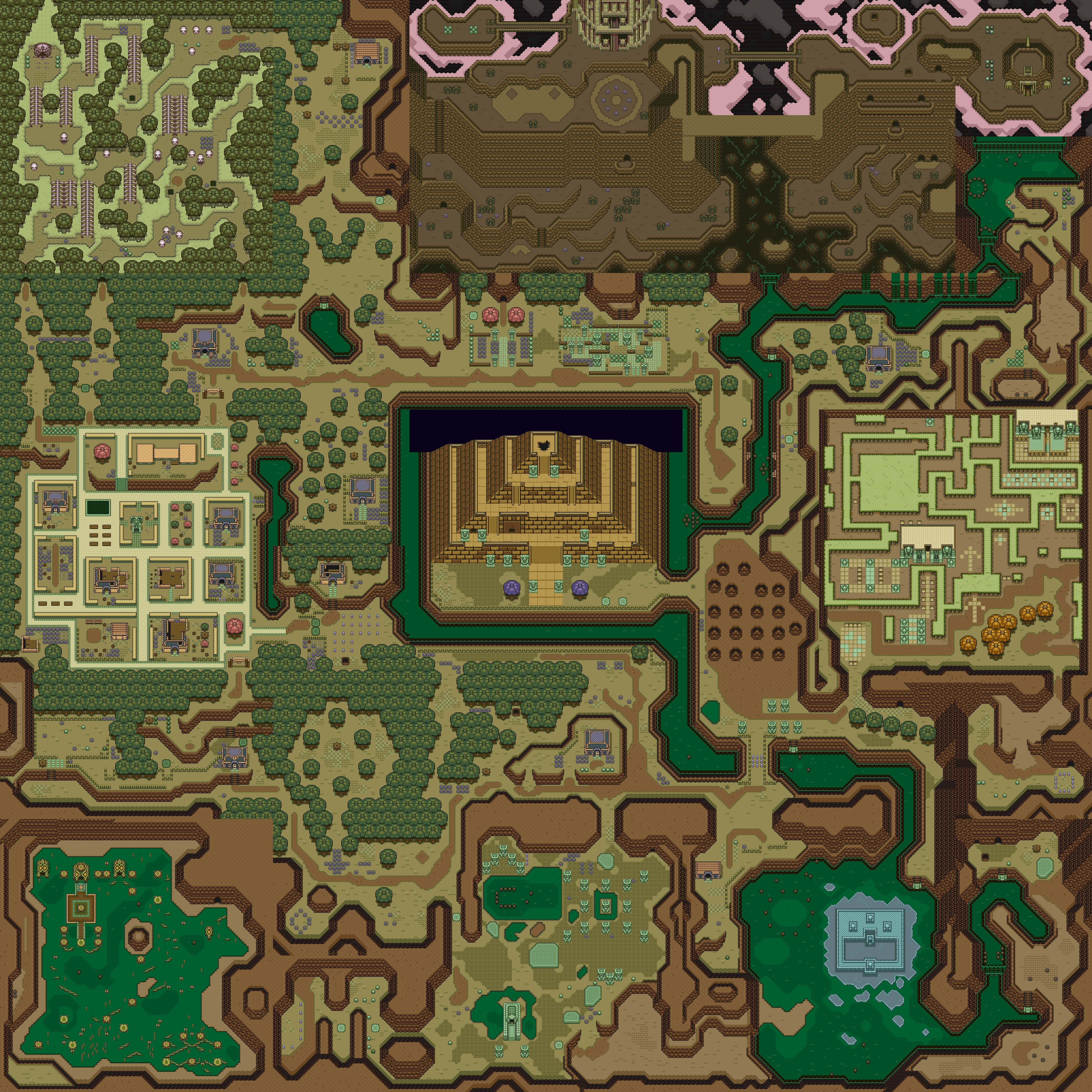 Most Viewed The Legend Of Zelda A Link To The Past Wallpapers