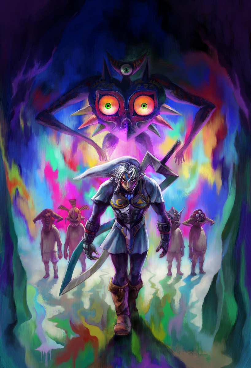 The Legend Of Zelda Majora S Mask Wallpapers Video Game Hq The