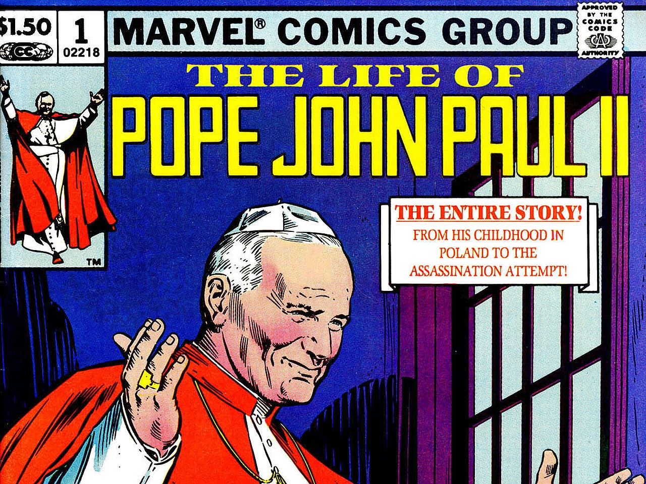 The Life Of Pope John Paul Ii Pics, Comics Collection