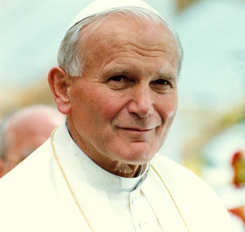 HD Quality Wallpaper   Collection: Comics, 816x773 The Life Of Pope John Paul Ii