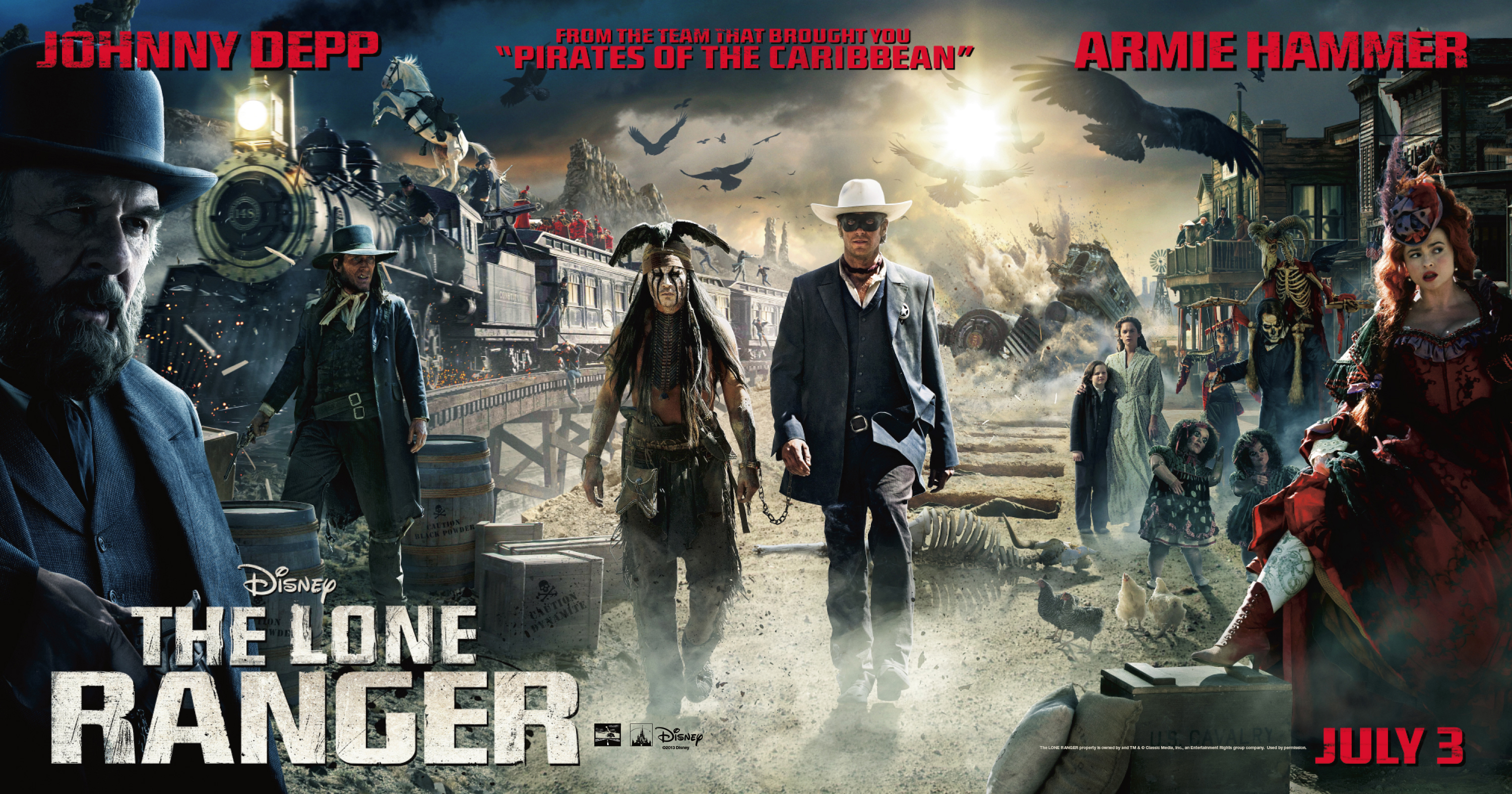 3000x1575 > The Lone Ranger Wallpapers