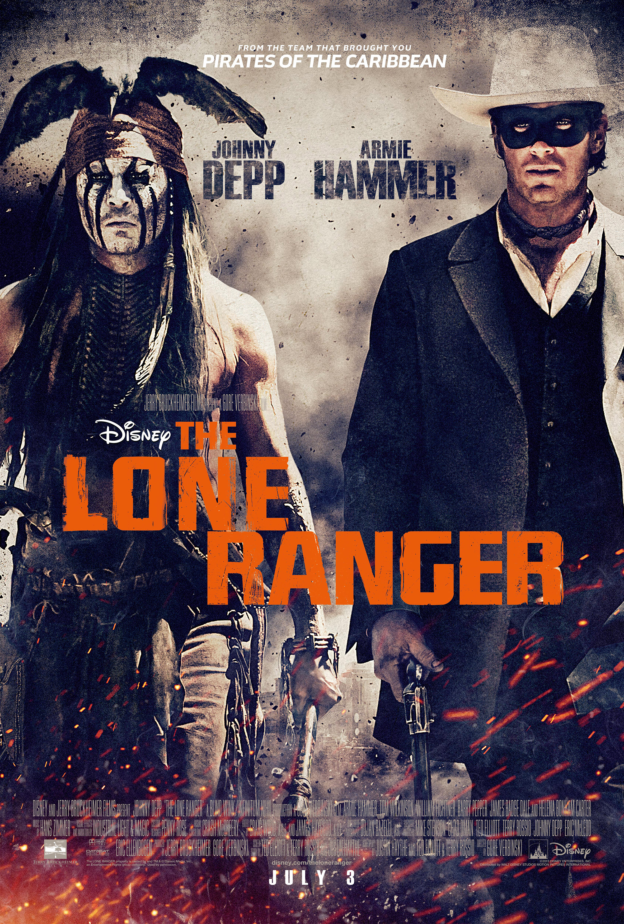 Nice wallpapers The Lone Ranger 2363x3500px