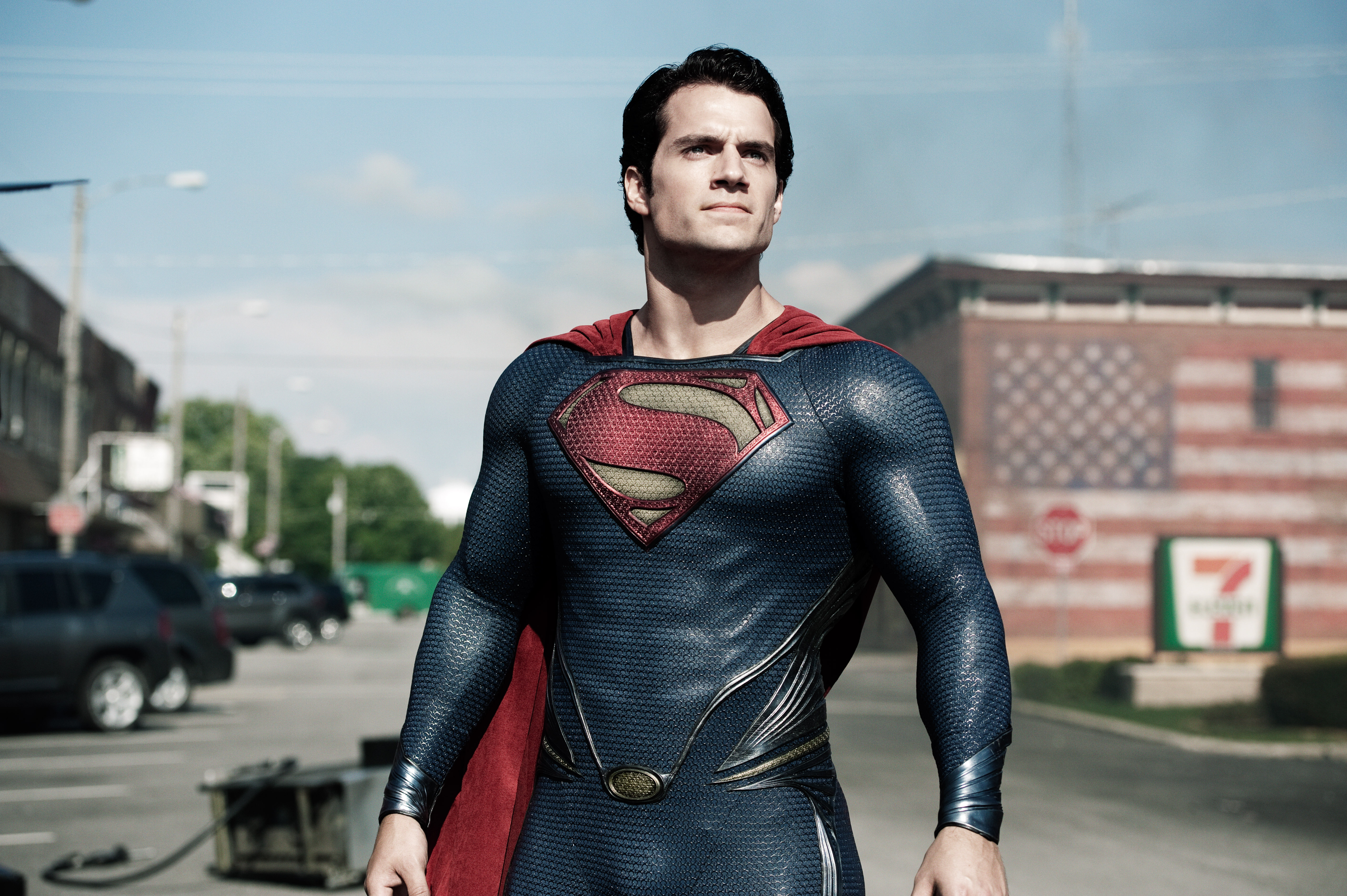 High Resolution Wallpaper | The Man Of Steel 5120x3407 px