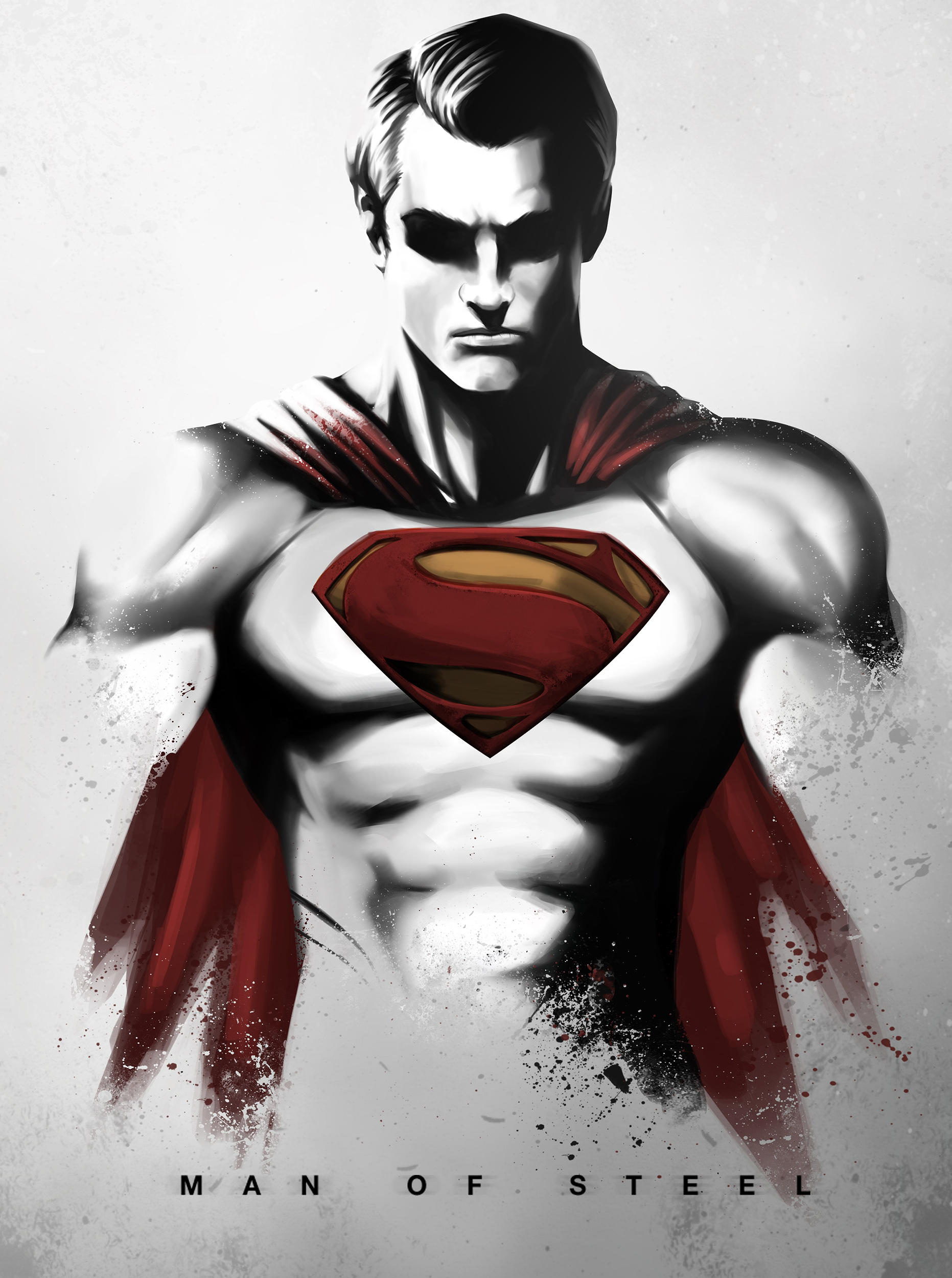 HD Quality Wallpaper | Collection: Comics, 1863x2500 The Man Of Steel