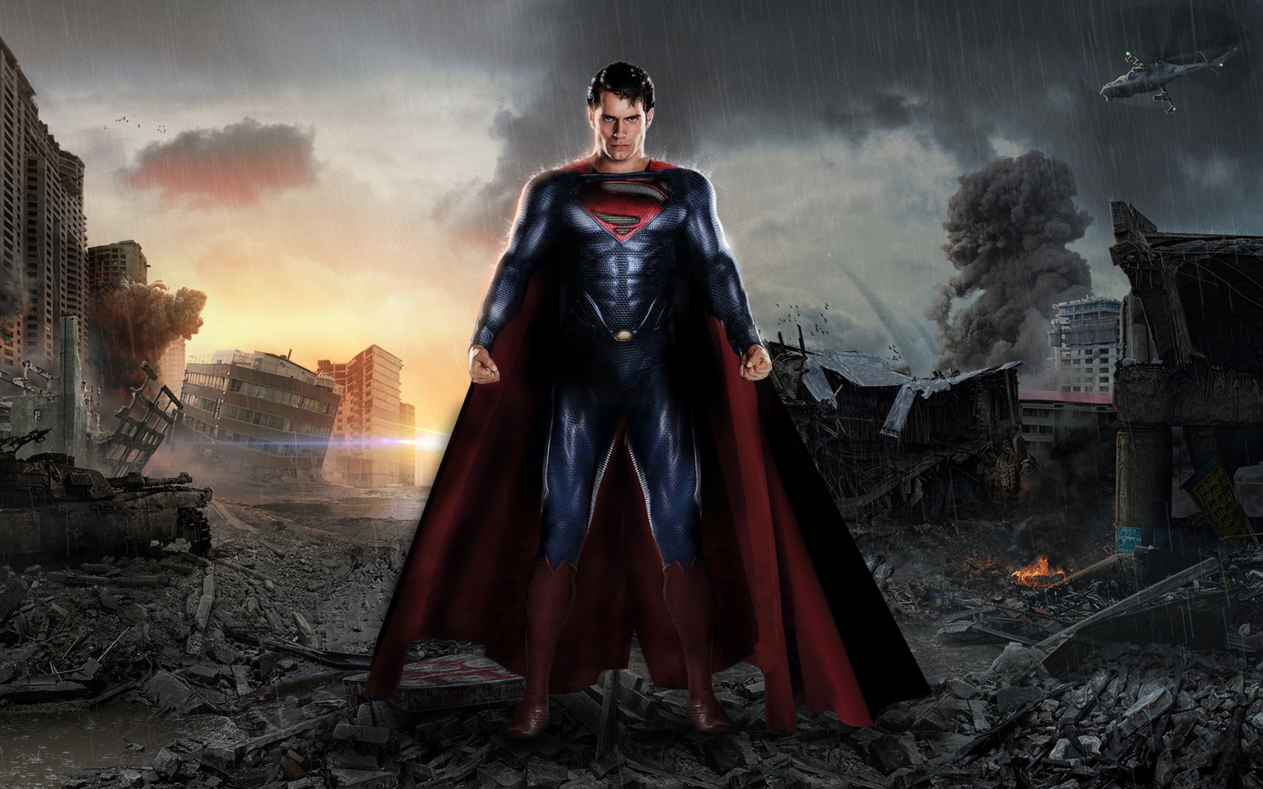 High Resolution Wallpaper | The Man Of Steel 2560x1600 px
