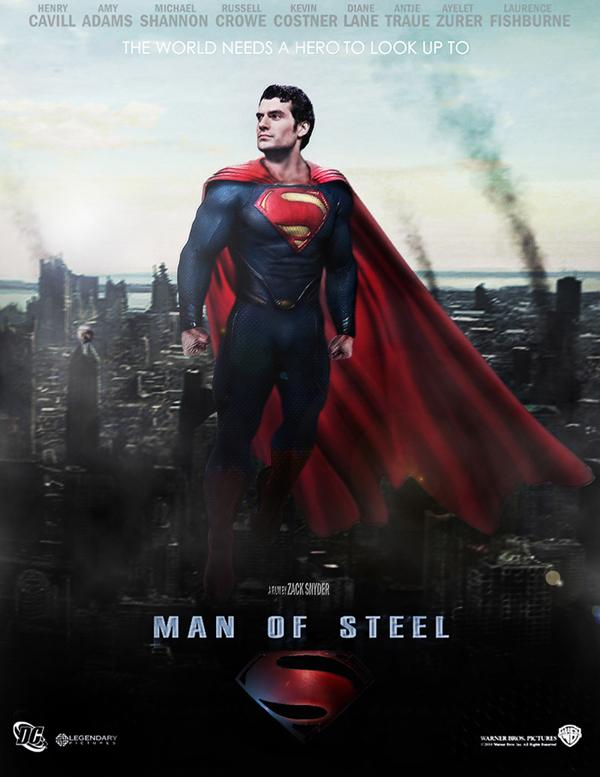 Nice Images Collection: The Man Of Steel Desktop Wallpapers