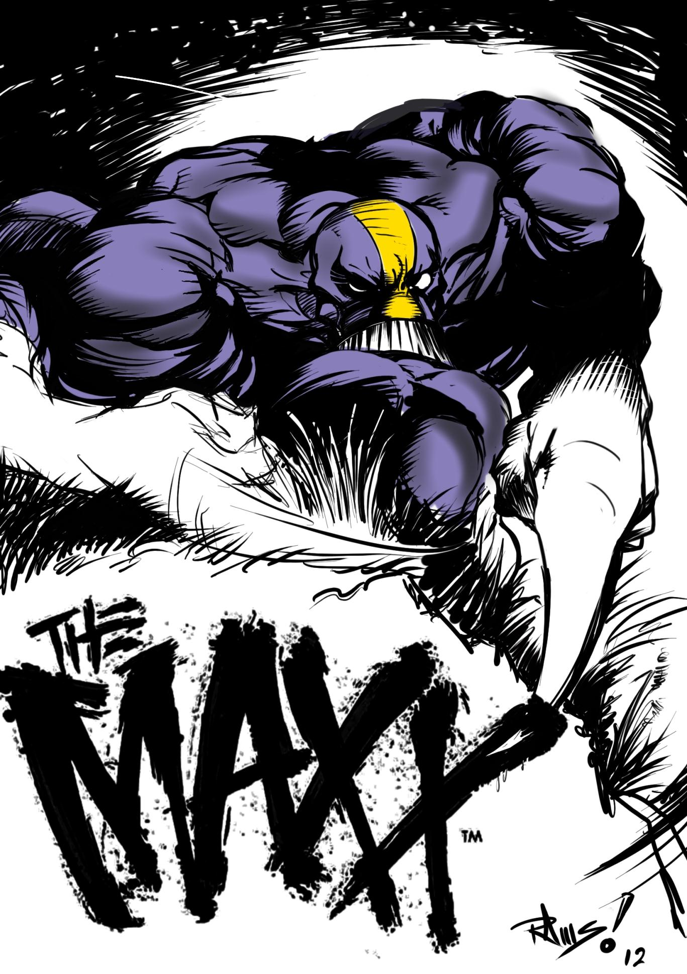 HD Quality Wallpaper | Collection: Comics, 1367x1938 The Maxx