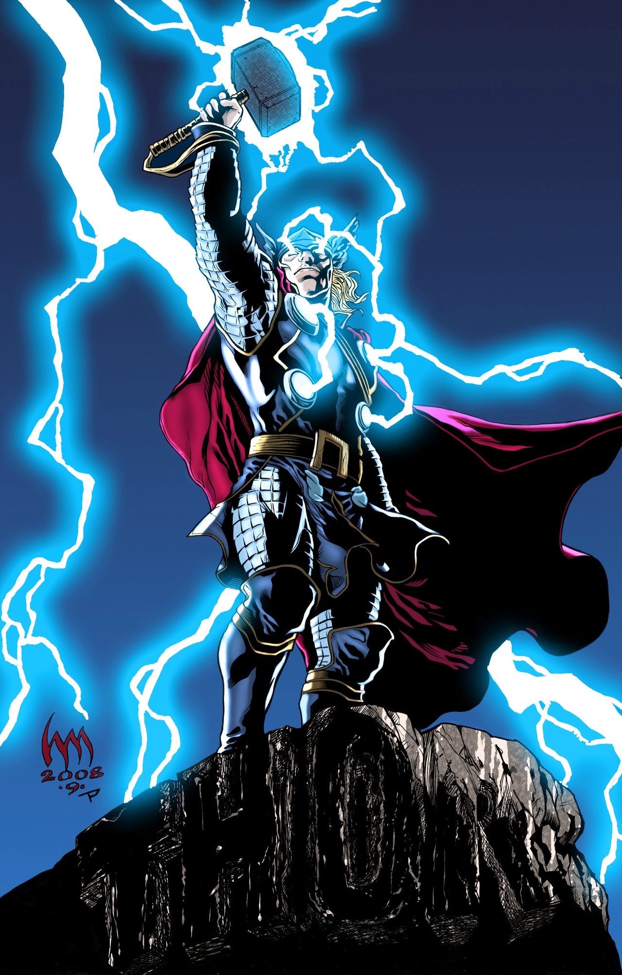 The Mighty Thor High Quality Background on Wallpapers Vista