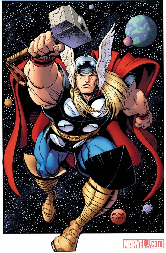 HD Quality Wallpaper | Collection: Comics, 550x840 The Mighty Thor