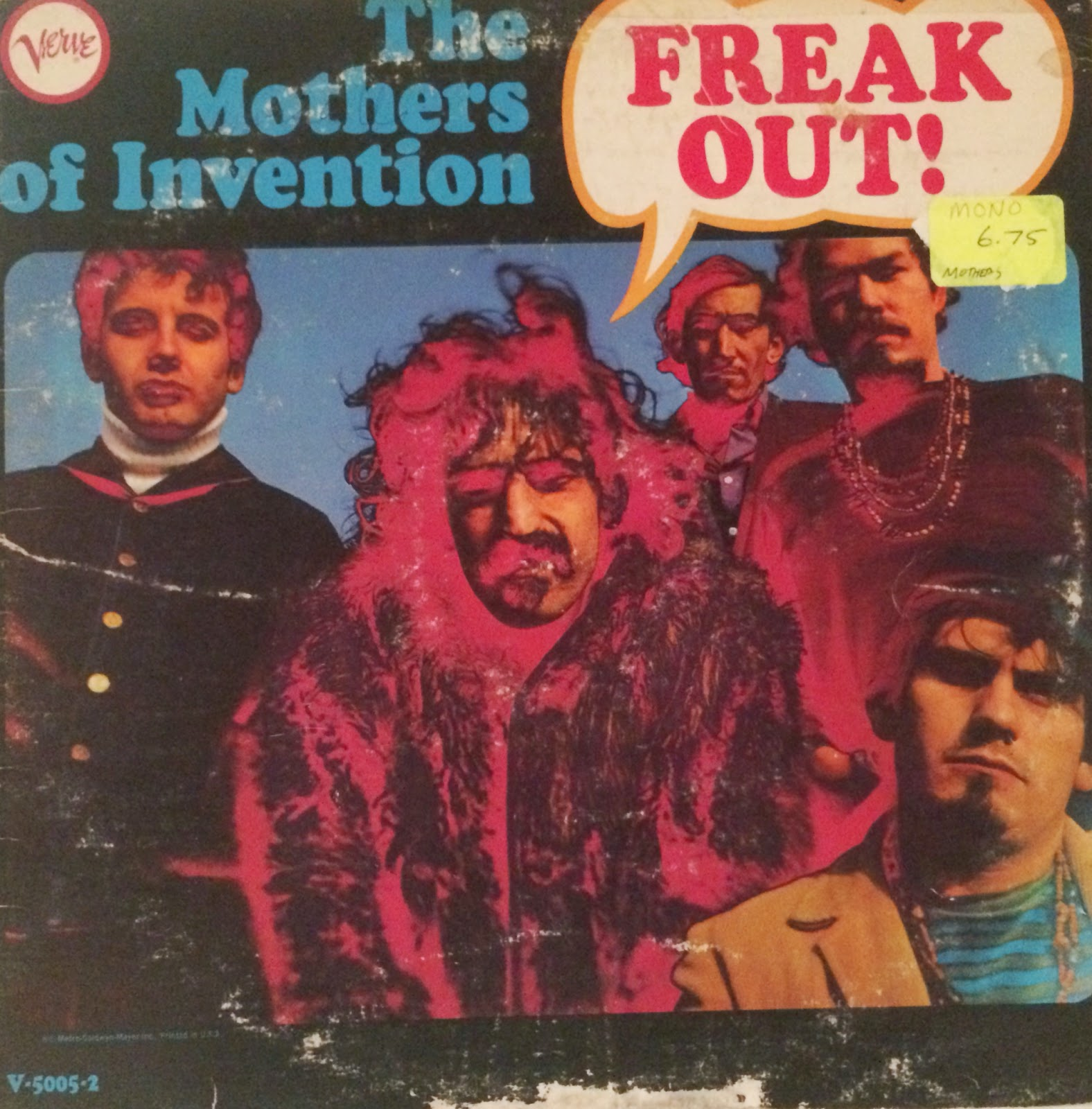 Nice wallpapers The Mothers Of Invention 1576x1600px