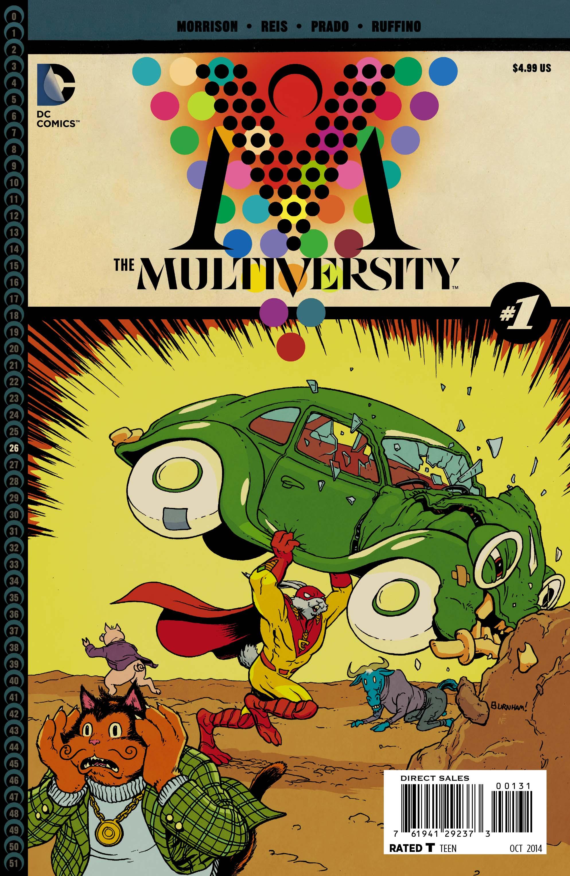 The Multiversity Pics, Comics Collection