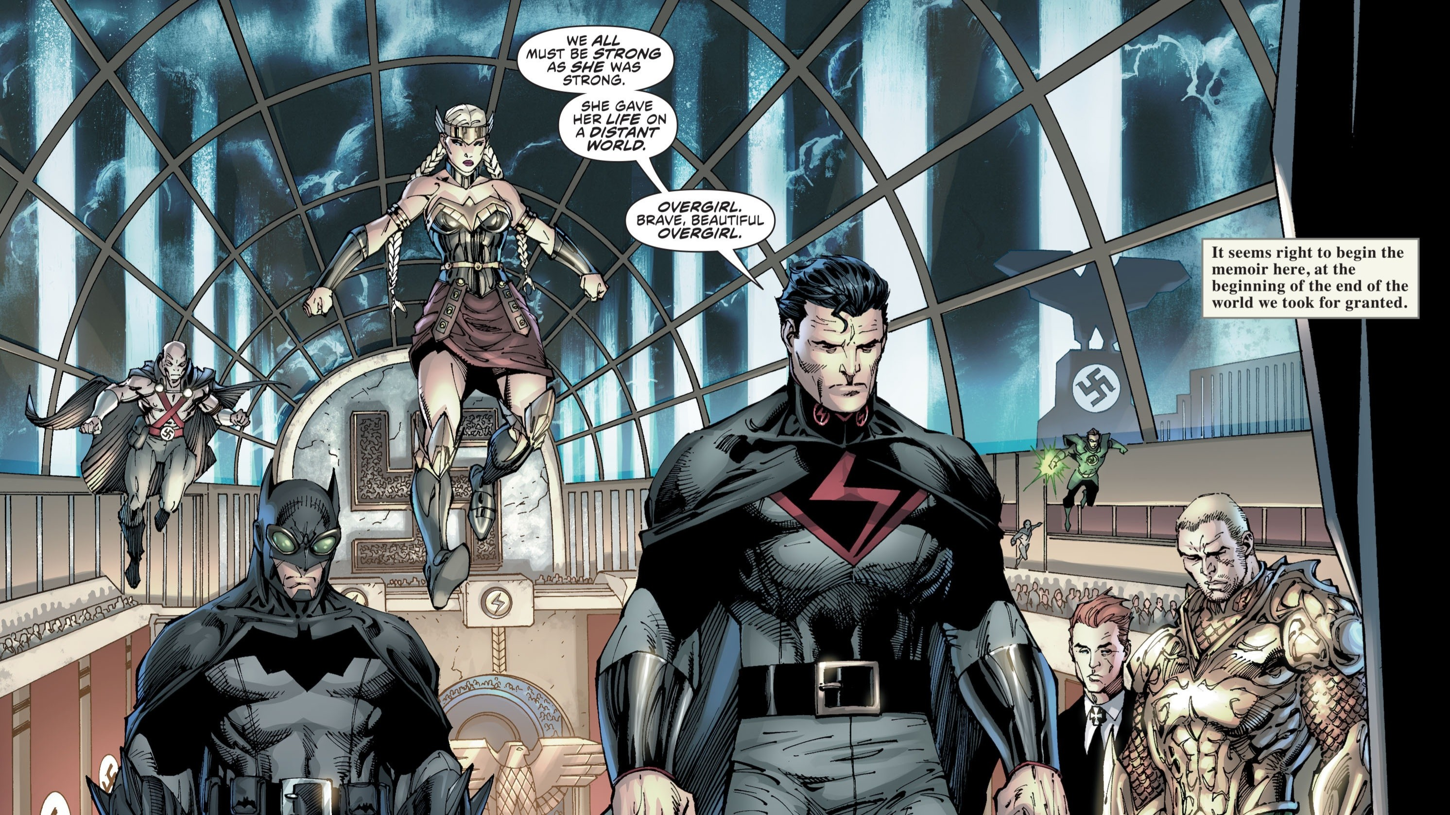 The Multiversity: Mastermen High Quality Background on Wallpapers Vista