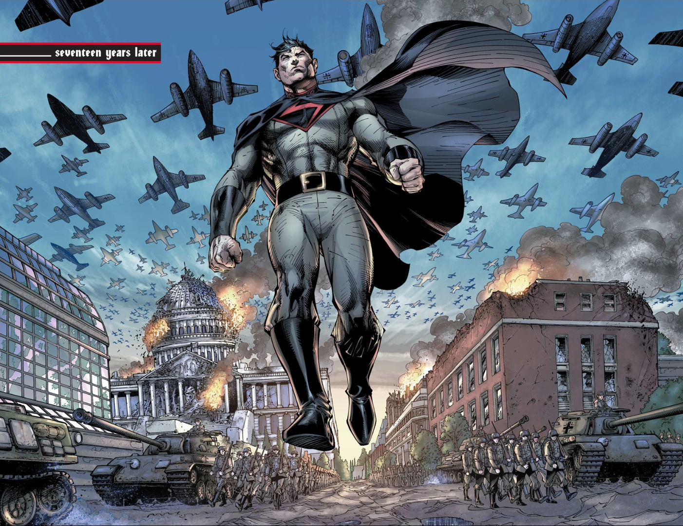 Nice Images Collection: The Multiversity: Mastermen Desktop Wallpapers