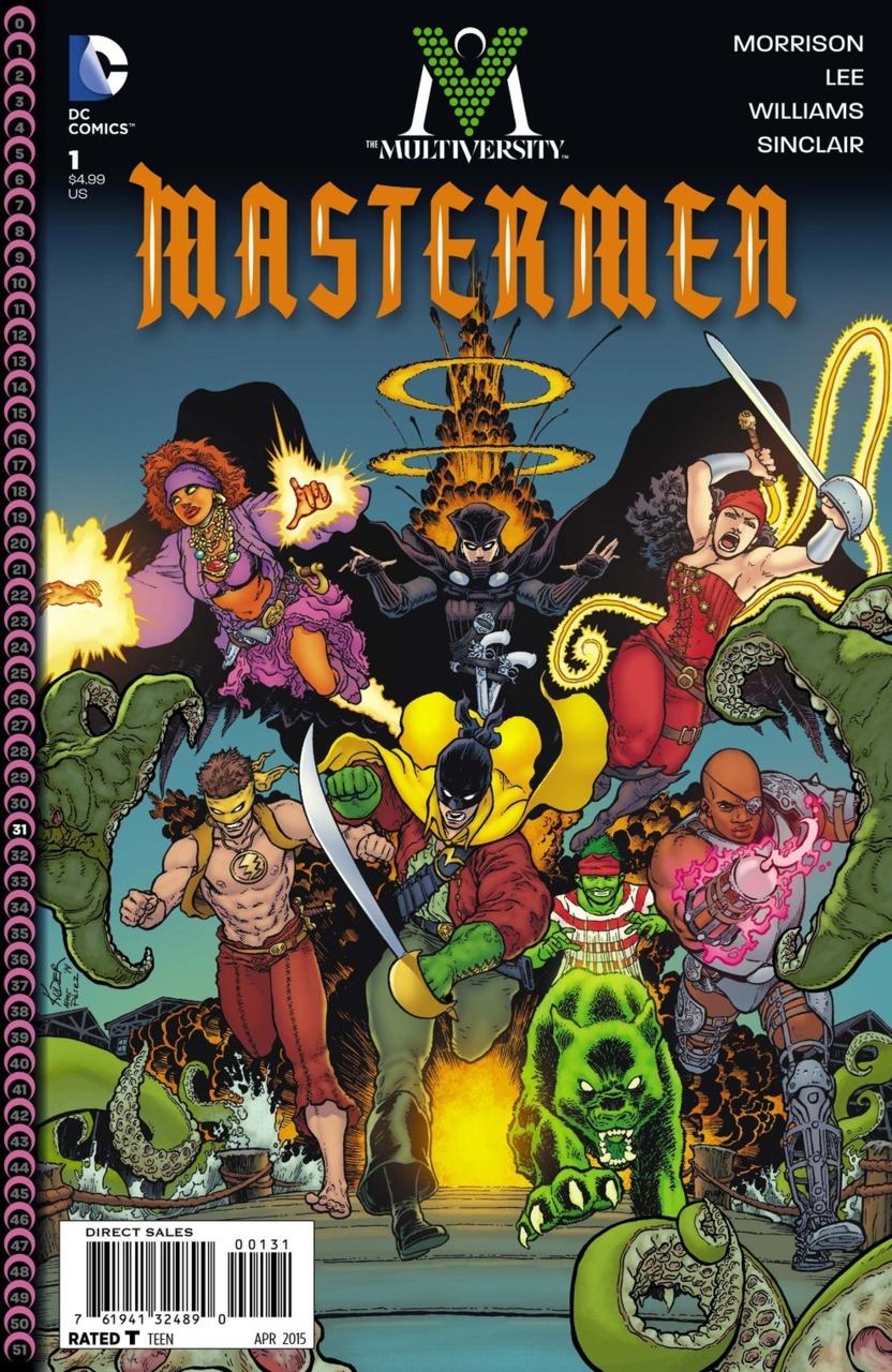 HQ The Multiversity: Mastermen Wallpapers | File 394.92Kb