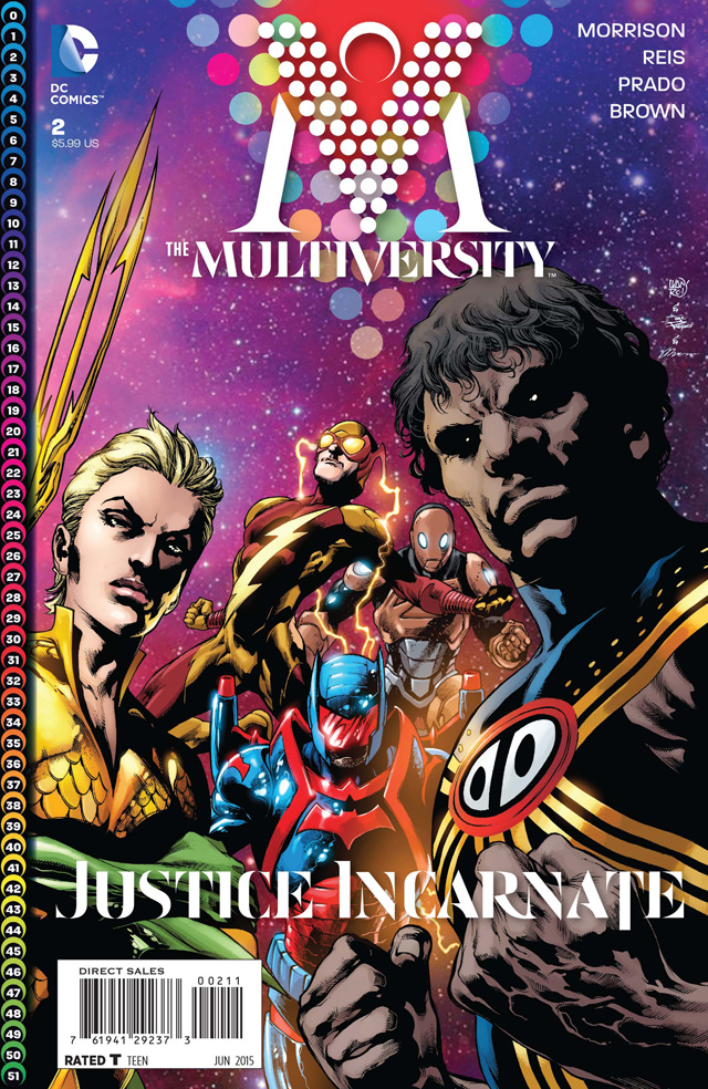 HD Quality Wallpaper   Collection: Comics, 640x984 The Multiversity