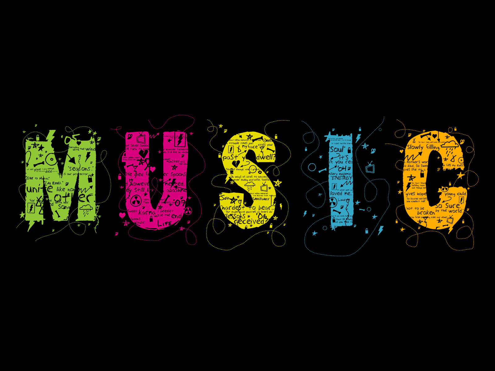 HD Quality Wallpaper   Collection: Music, 1600x1200 The Music