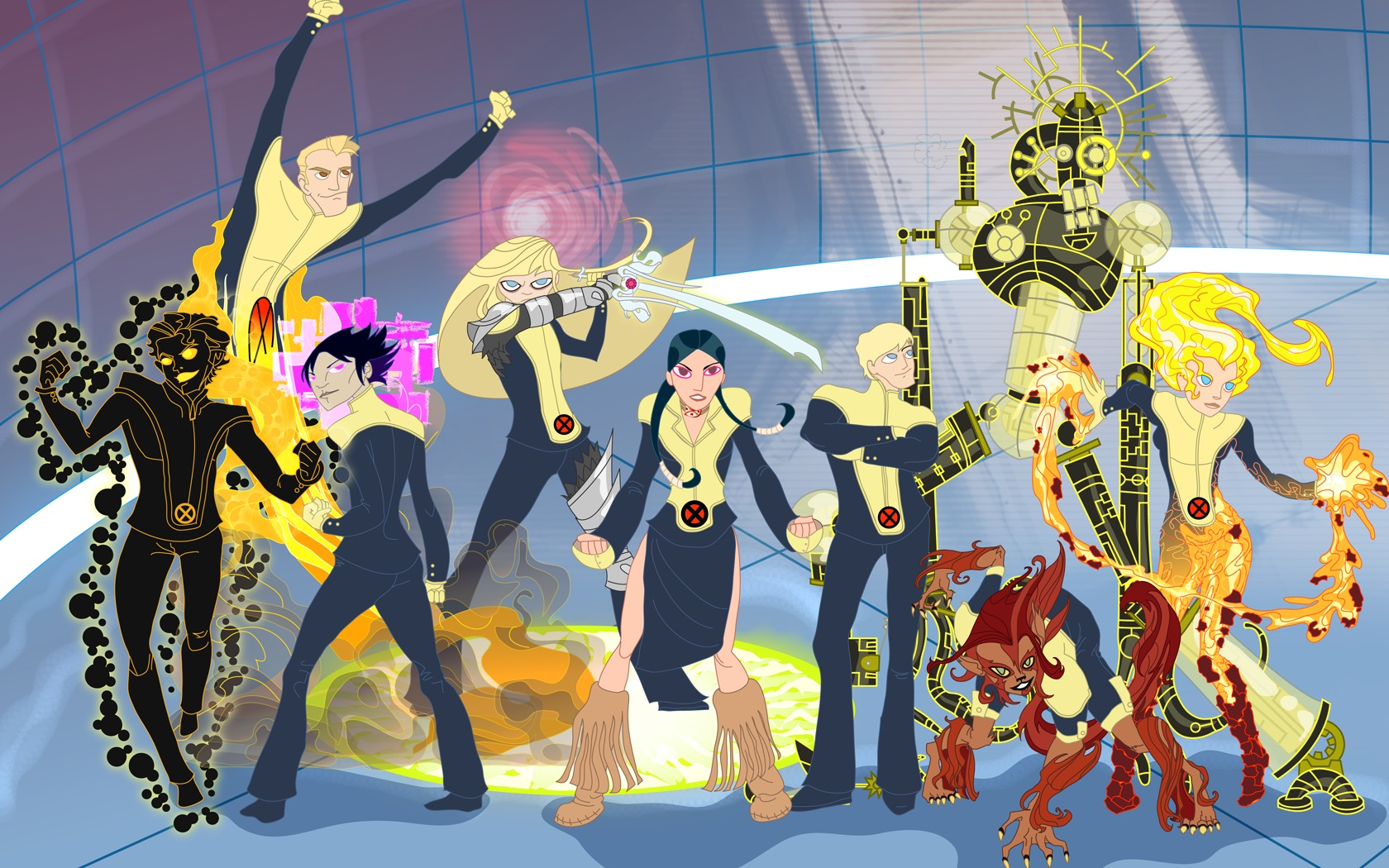 Nice wallpapers The New Mutants 1680x1050px