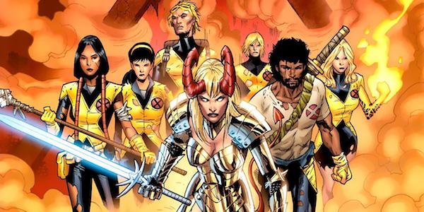 The New Mutants Pics, Comics Collection