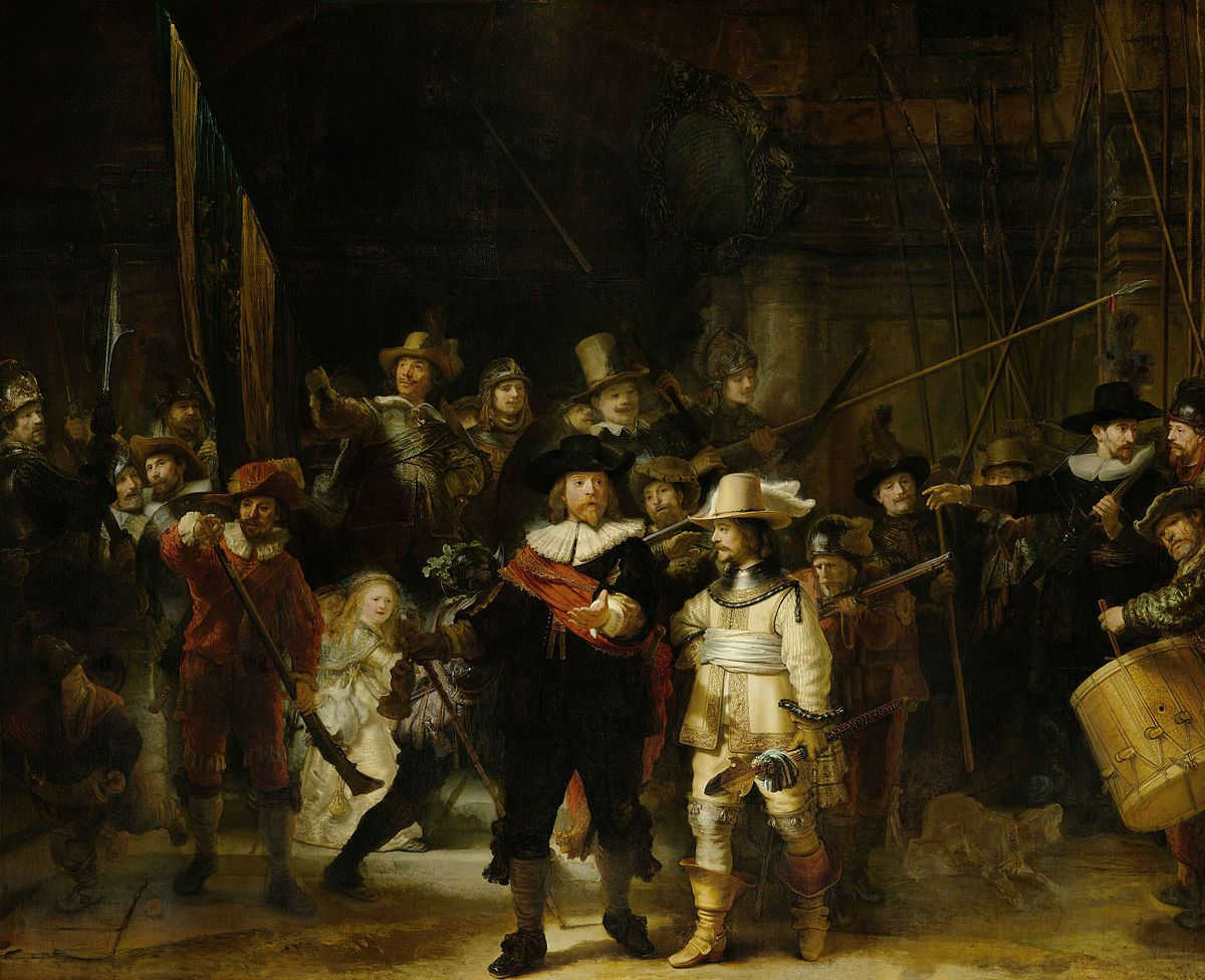 The Night Watch Backgrounds on Wallpapers Vista