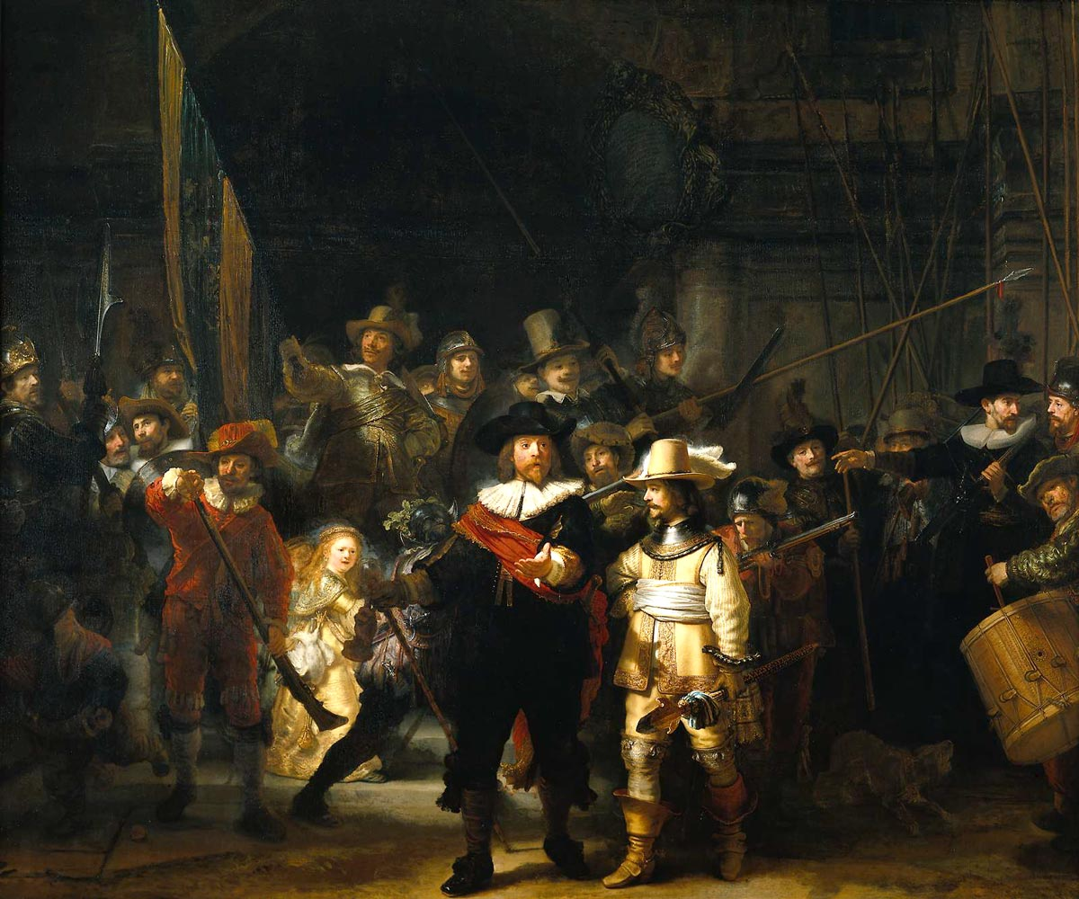 The Night Watch Pics, Artistic Collection