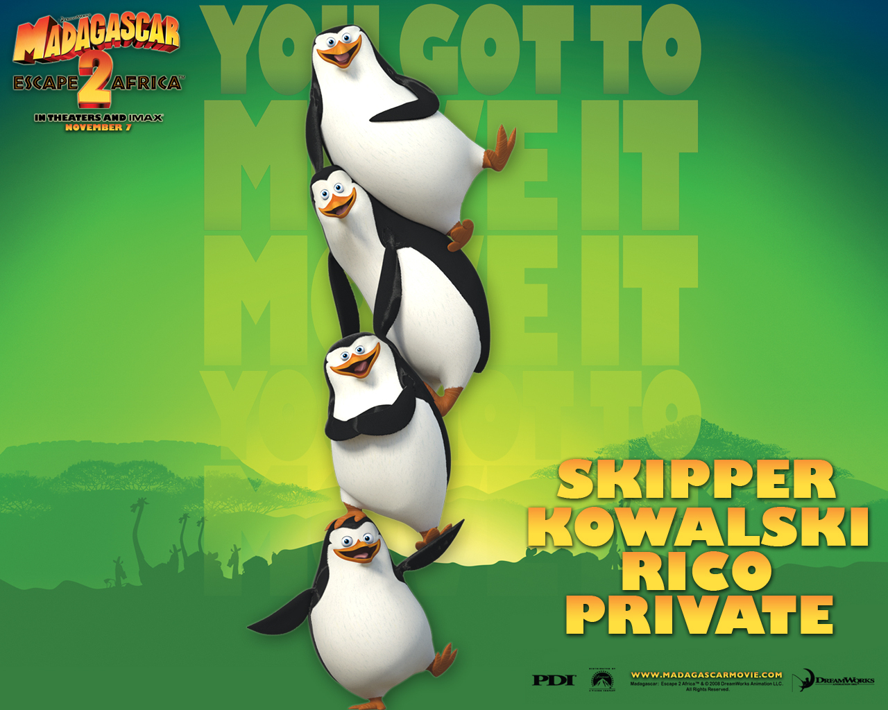 The Penguins Of Madagascar Backgrounds on Wallpapers Vista