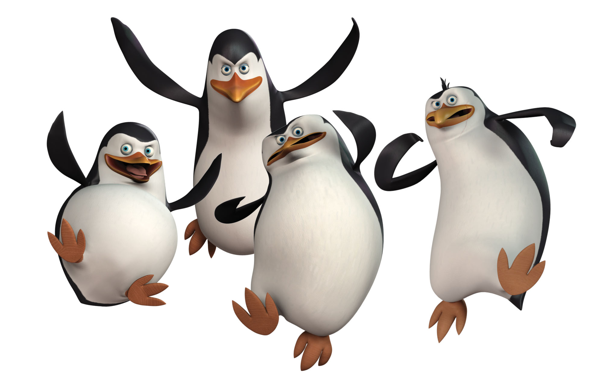 HD Quality Wallpaper | Collection: Cartoon, 2000x1271 The Penquins Of Madagascar
