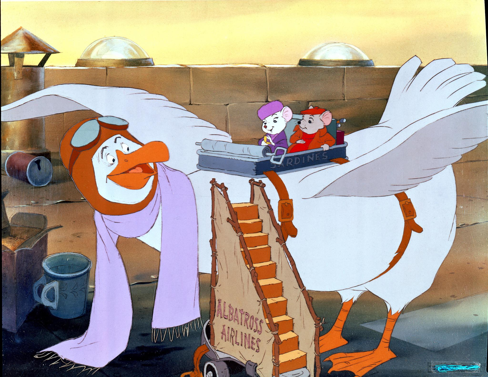 The Rescuers Pics, Cartoon Collection