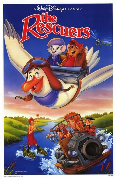 Nice wallpapers The Rescuers 489x755px