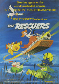 HD Quality Wallpaper | Collection: Cartoon, 200x285 The Rescuers