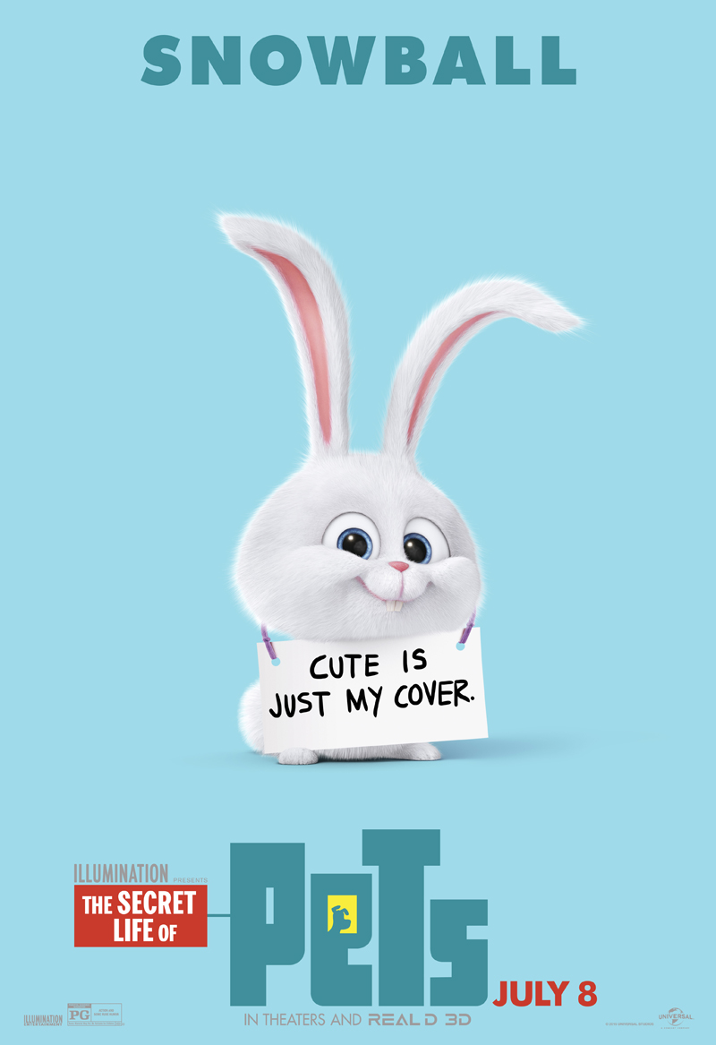 Wallpaper Snowball Secret Life Of Pets Daily Quotes