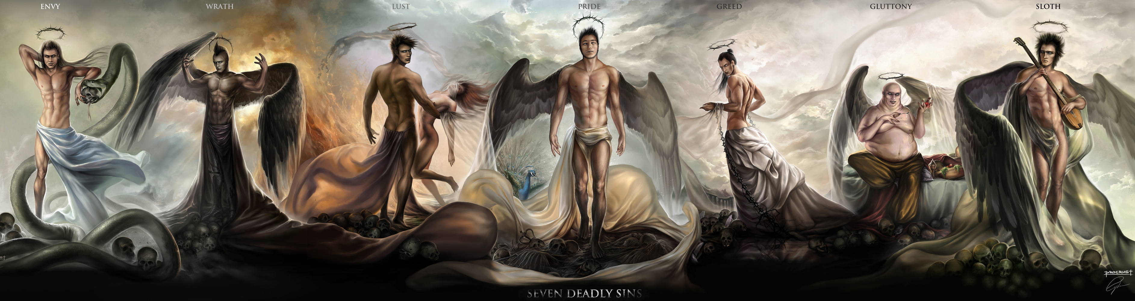7 Deadly Sins High Quality Background on Wallpapers Vista