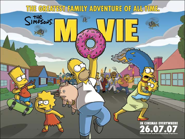 The Simpsons Movie Wallpapers Movie Hq The Simpsons Movie Pictures 4k Wallpapers 2019