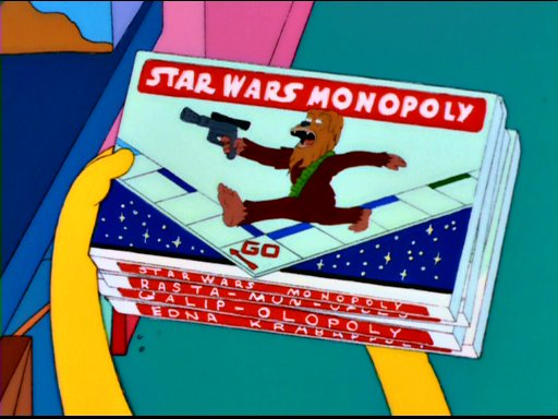 512x384 > The Simpsons - Star Wars Parody Wallpapers