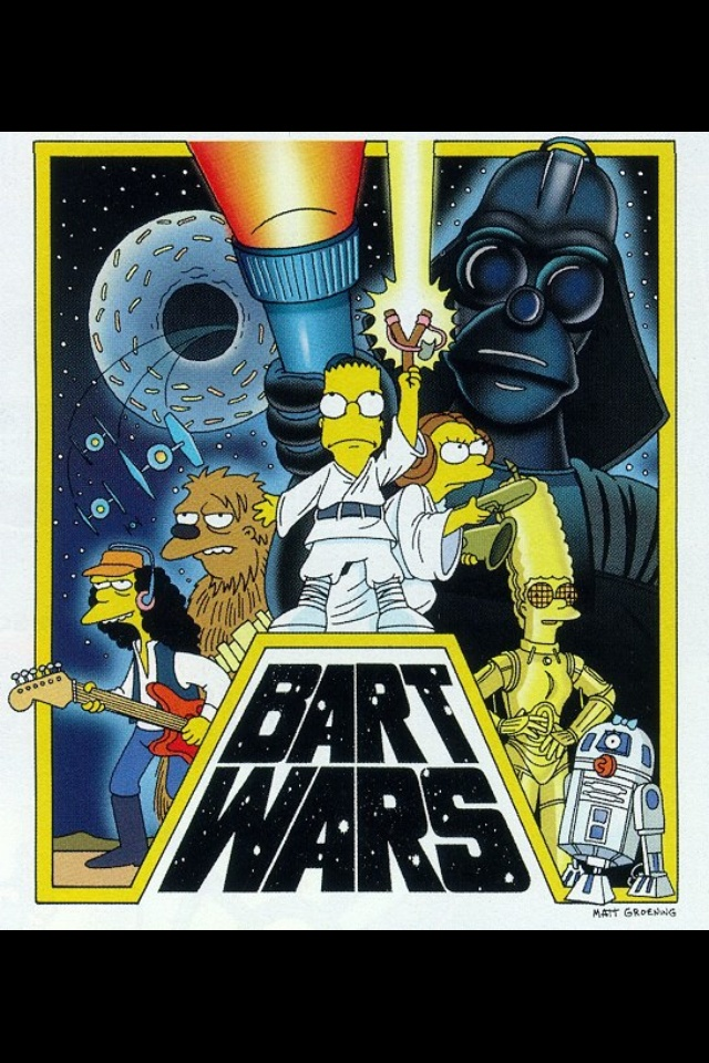 640x960 > The Simpsons - Star Wars Parody Wallpapers